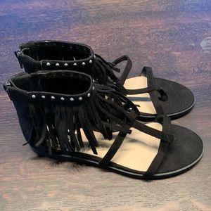 ✨MOVING SALE✨Fringe Sandals
